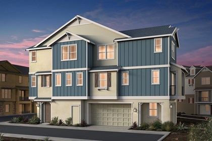 New Homes in Dublin, CA - Napa Valley Classic Elevation
