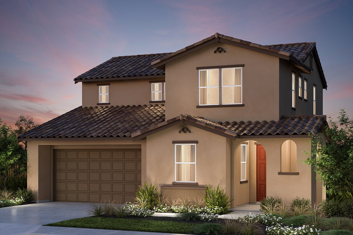 New Homes in Vallejo, CA - Skyline Plan 1 Spanish Colonial Elevation