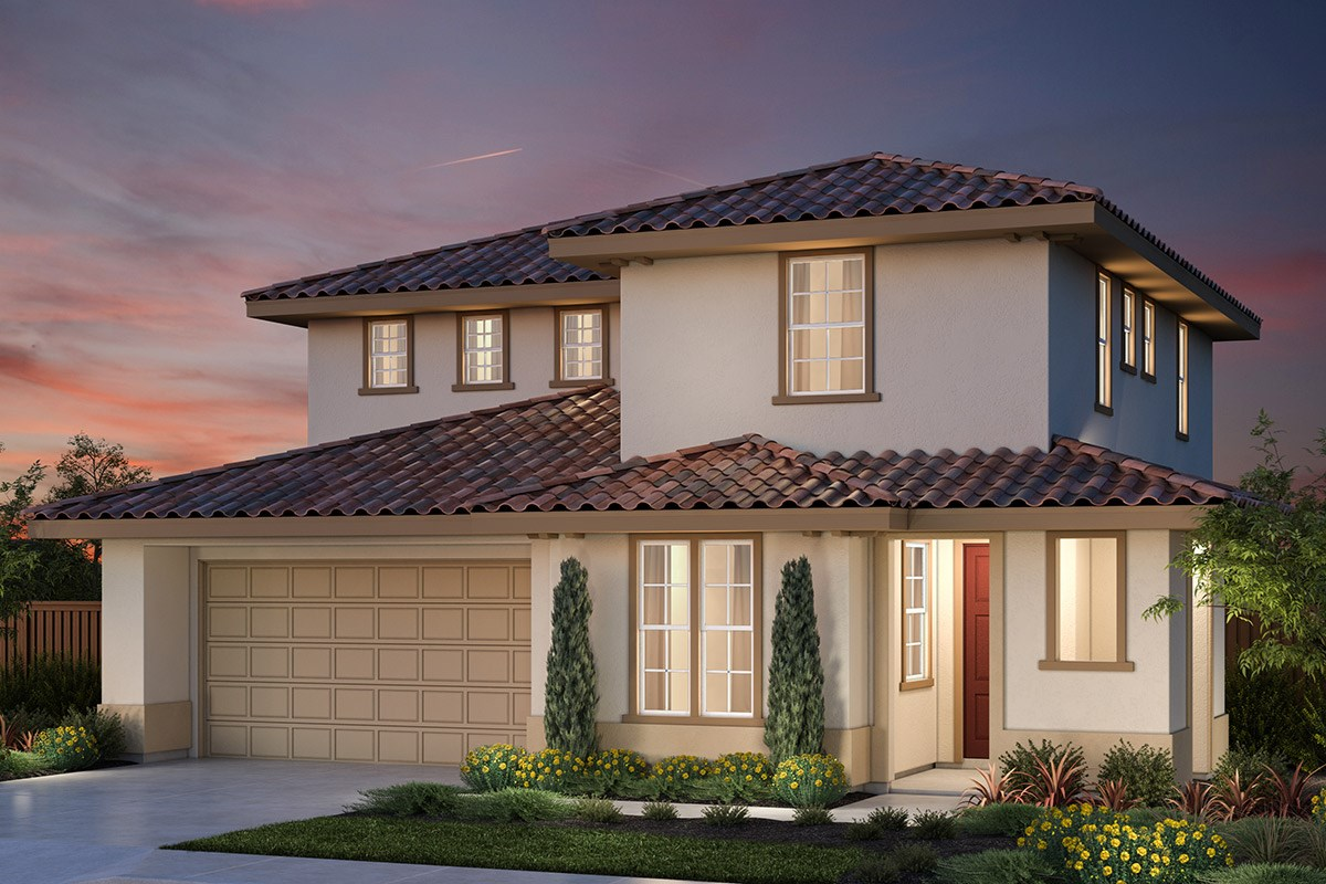 New Homes in Vallejo, CA - Skyline Plan 1 Italianate Elevation