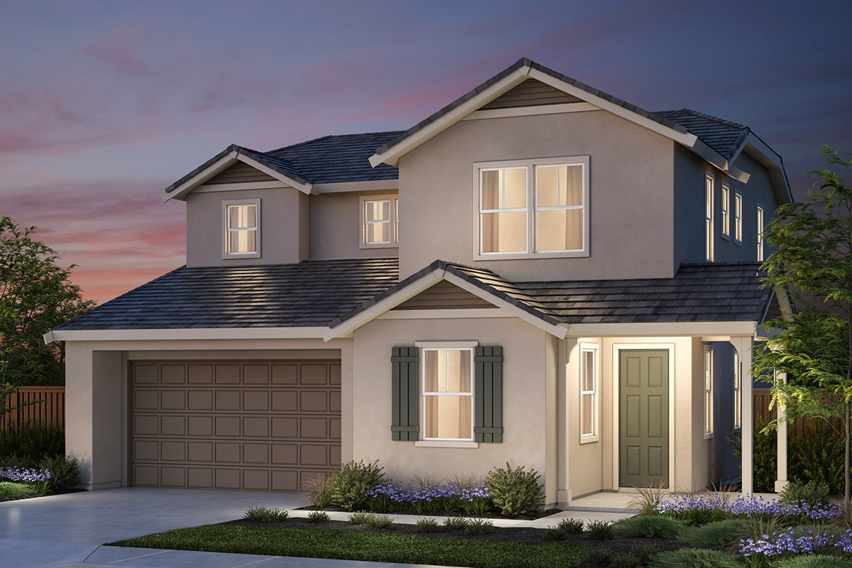 New Homes in Vallejo, CA - Skyline Plan 1 French Country Elevation