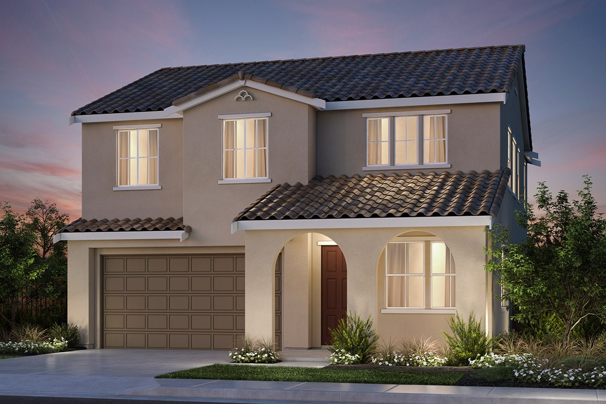 New Homes in Vallejo, CA - Skyline Plan 2 Spanish Colonial Elevation