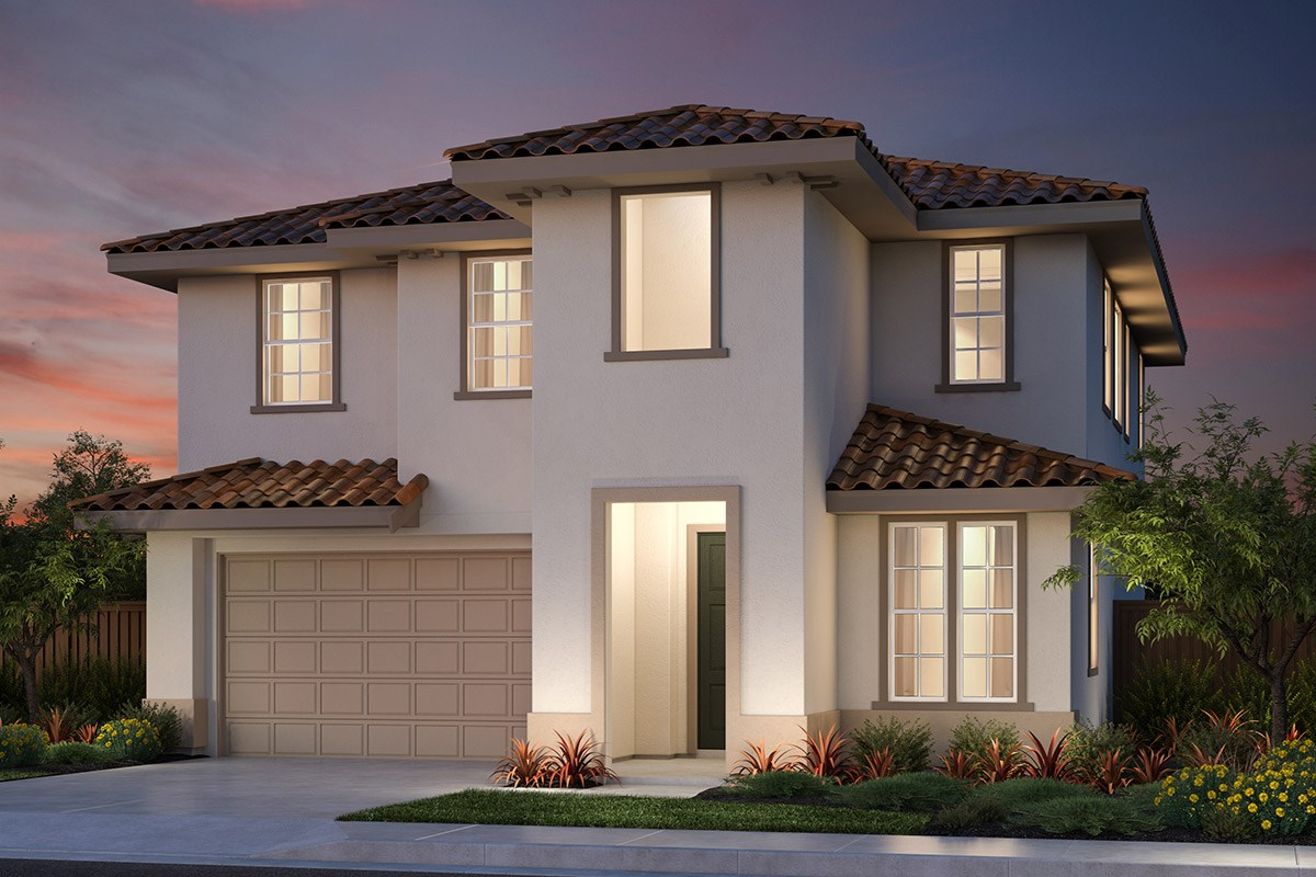 New Homes in Vallejo, CA - Skyline Plan 2 Italianate Elevation