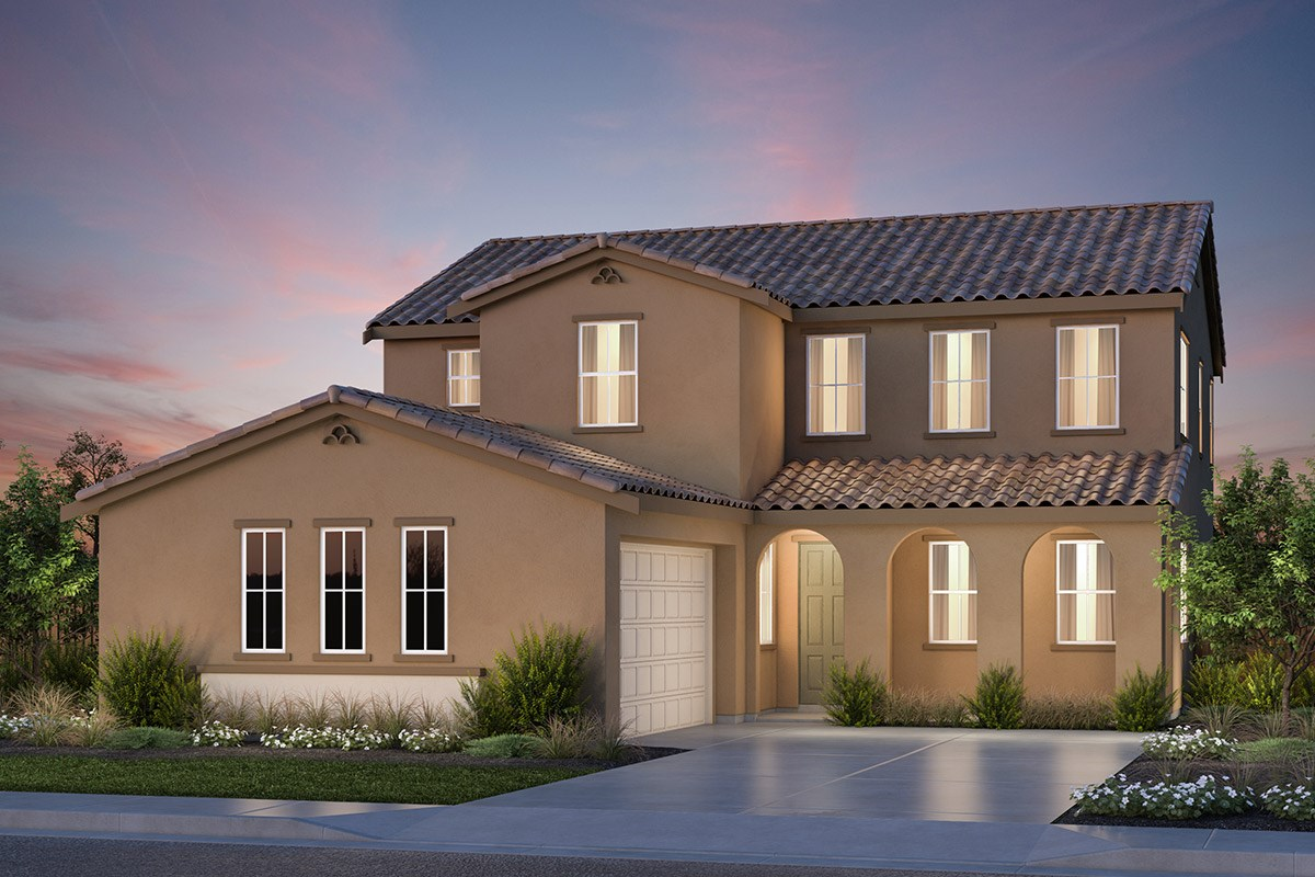 New Homes in Vallejo, CA - Skyline Plan 3 Spanish Colonial Elevation