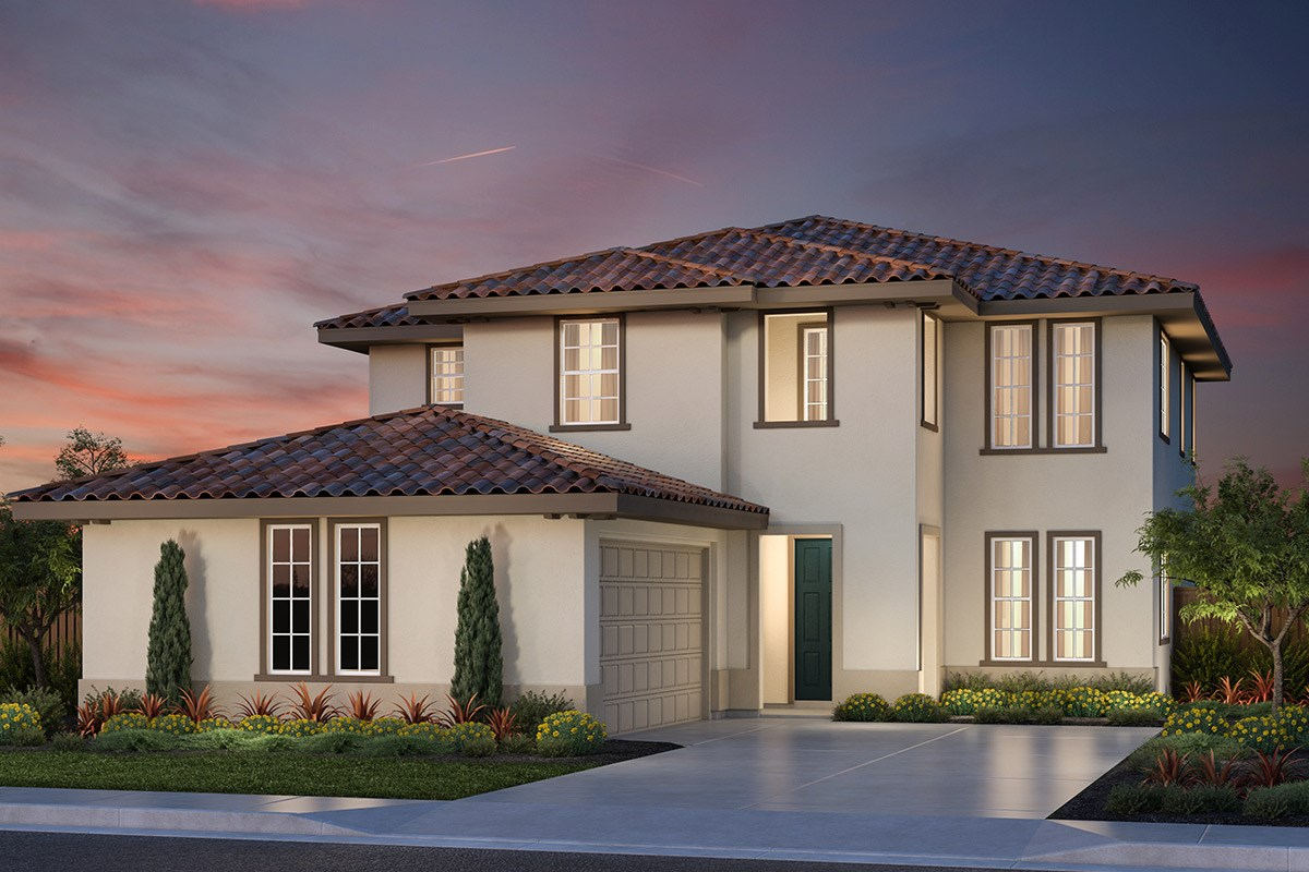 New Homes in Vallejo, CA - Skyline Plan 3 Italianate Elevation