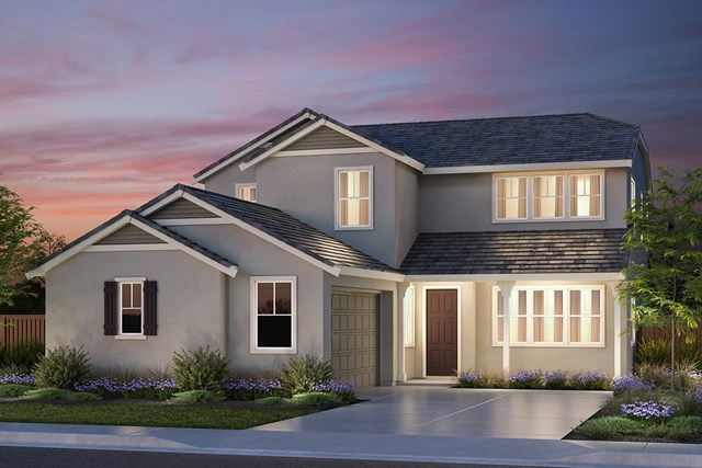 New Homes in Vallejo, CA - French Country