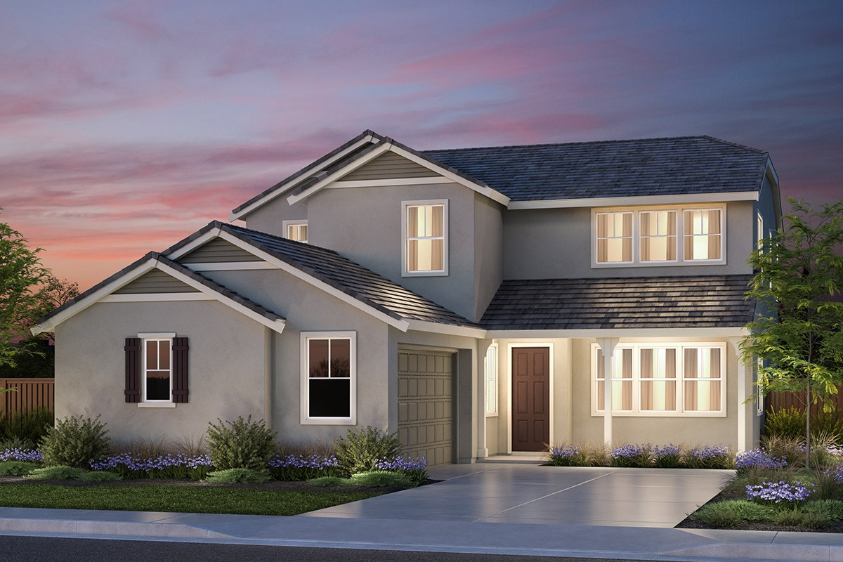 New Homes in Vallejo, CA - Skyline Plan 3 French Country Elevation