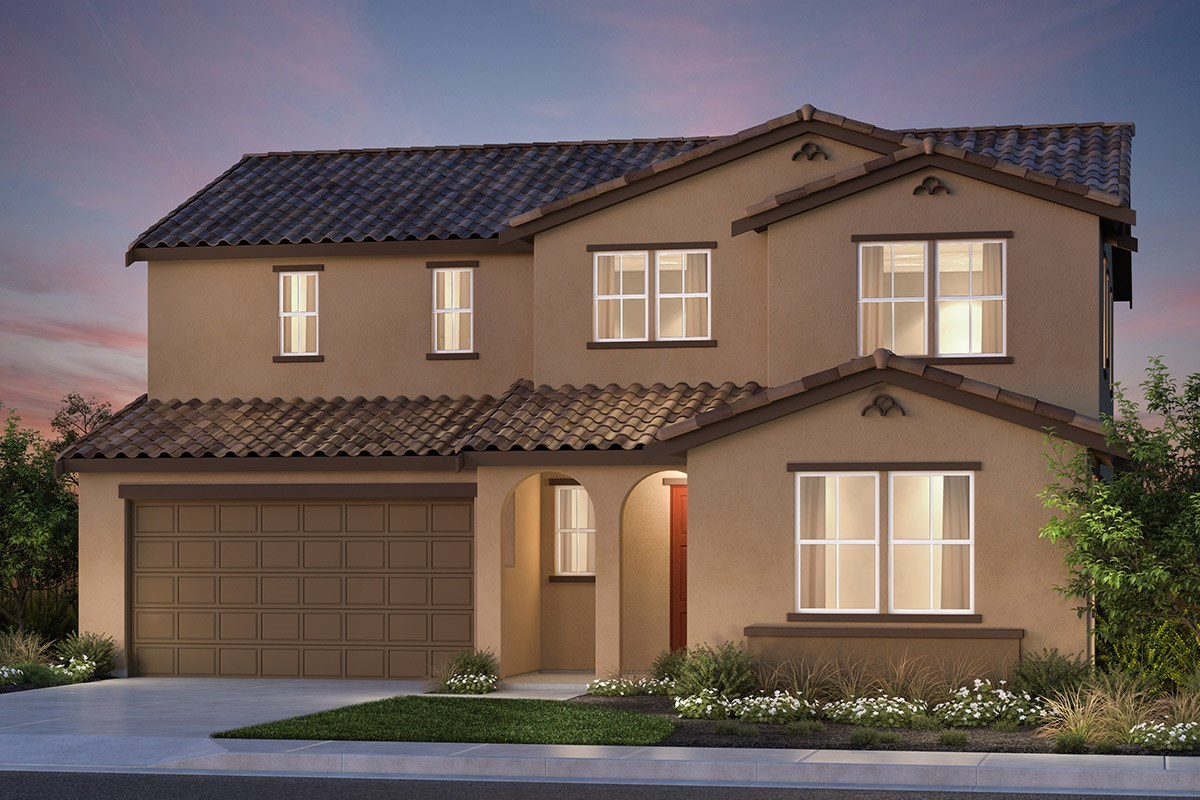New Homes in Vallejo, CA - Skyline Plan 4 Spanish Colonial
