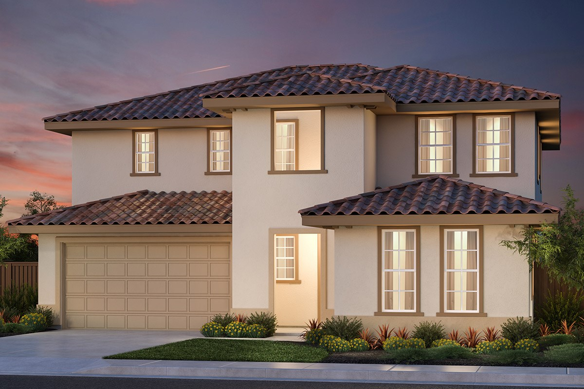 New Homes in Vallejo, CA - Skyline Plan 4 Italianate