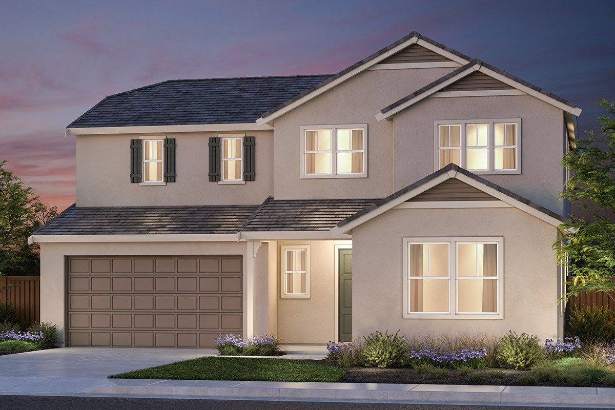 New Homes in Vallejo, CA - Skyline Plan 4 French Country