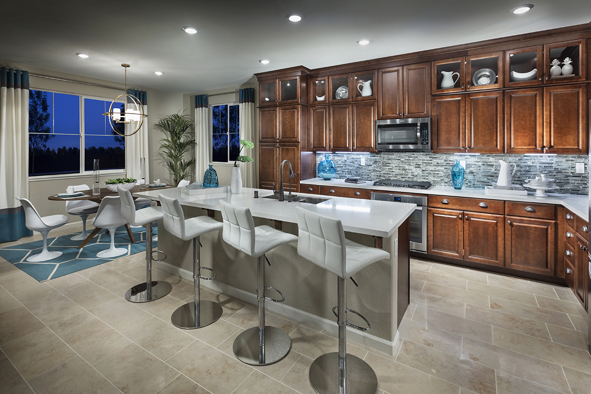 Last Chance To Own New Homes In Brentwood, CA   Sparrow At Marsh Creek Plan  3 Kitchen