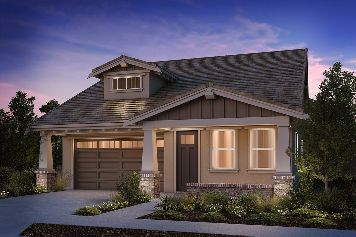 New Homes in Brentwood, CA - Sparrow at Marsh Creek Plan 1 Craftsman 'B'