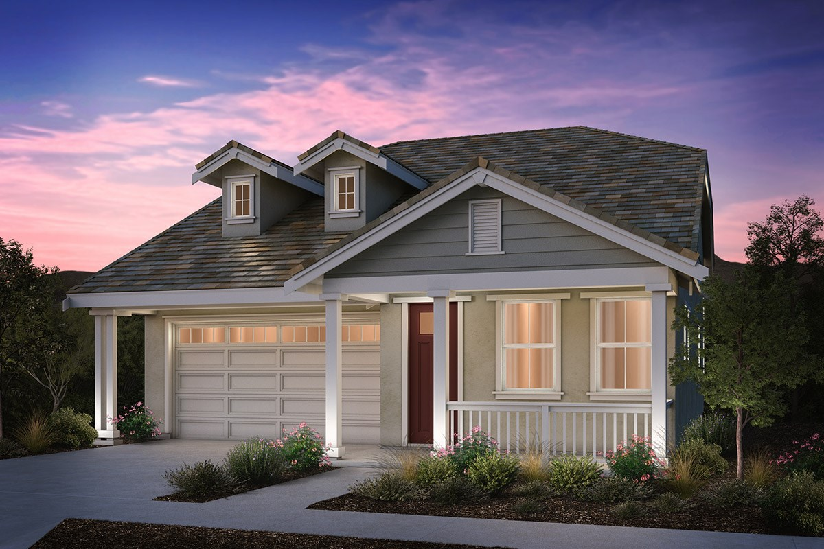 New Homes in Brentwood, CA - Sparrow at Marsh Creek Plan 1 Traditional 'C'