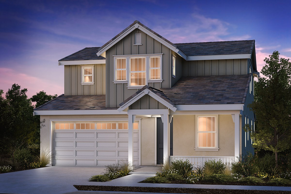 New Homes in Brentwood, CA - Sparrow at Marsh Creek Plan 2 Farmhouse 'D'