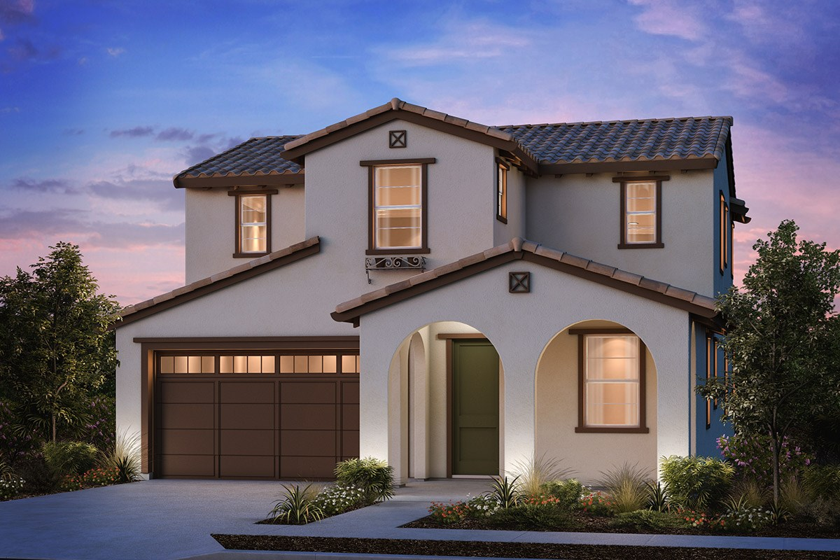 New Homes in Brentwood, CA - Sparrow at Marsh Creek Plan 2 Spanish 'A'