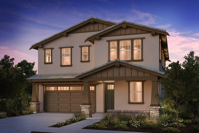 New Homes in Brentwood, CA - Craftsman 'B'