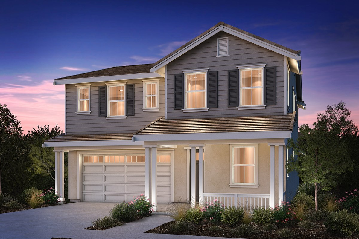 New Homes in Brentwood, CA - Sparrow at Marsh Creek Plan 3 Traditional 'C'
