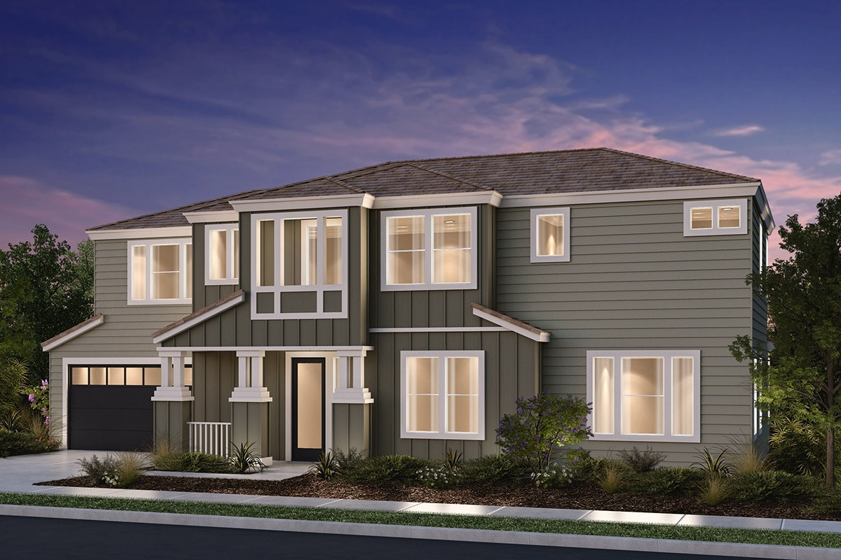 New Homes in Petaluma, CA - Sterling Hills at Quarry Heights Plan 2650 Elevation B