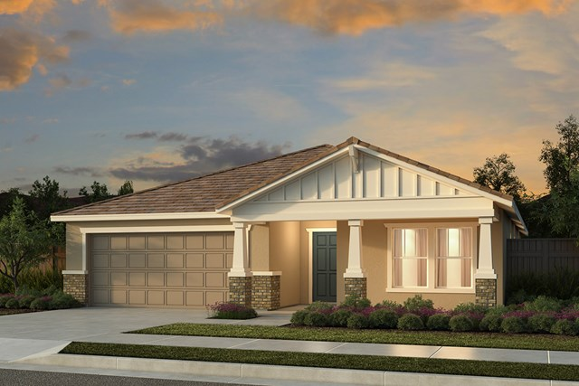 New Homes in Manteca, CA - Plan 1718 - Craftsman