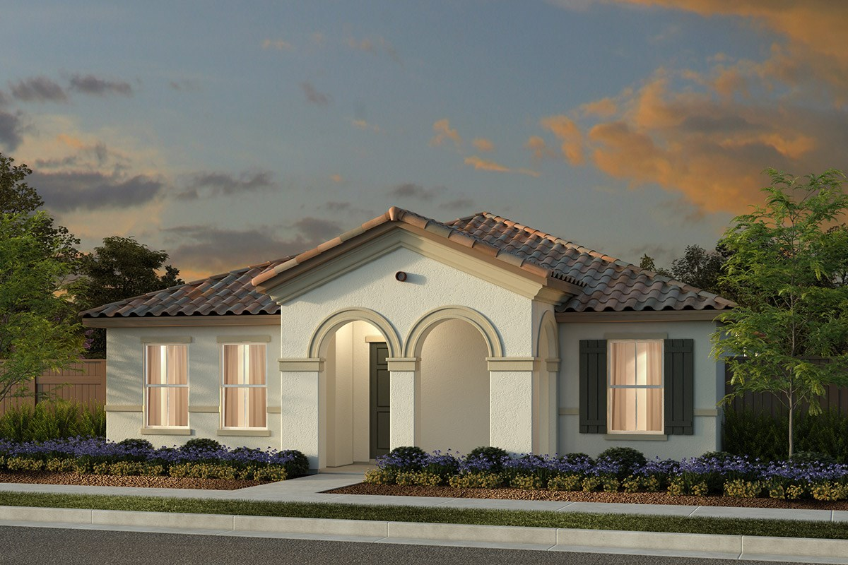 New Homes in Manteca, CA - Haven at Sundance Plan 1722 Spanish