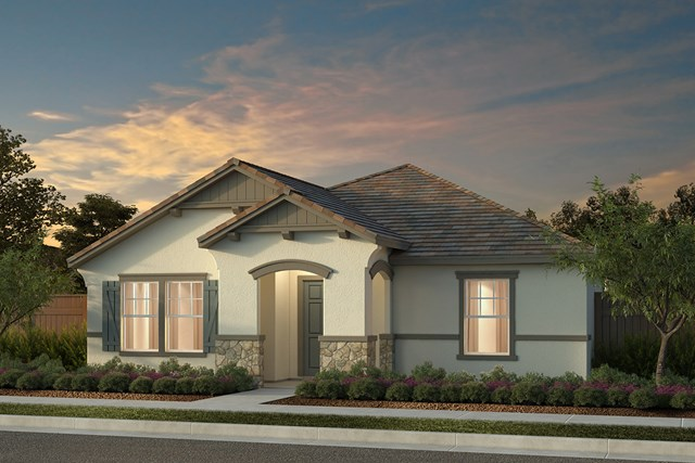 New Homes in Manteca, CA - Plan 1722 Cottage
