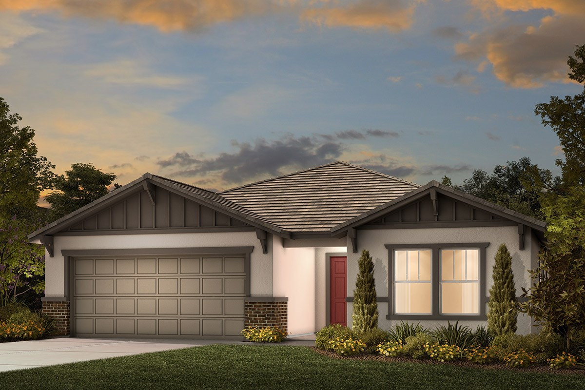 New Homes in Manteca, CA - Haven at Sundance Plan 1925 Craftsman
