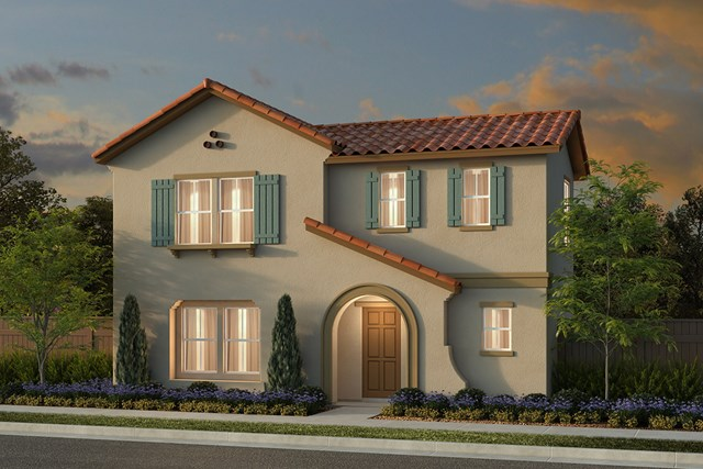 New Homes in Manteca, CA - Plan 2001 Spanish