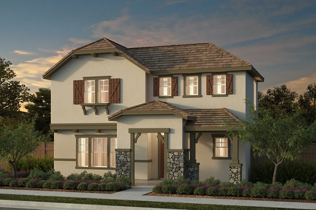 New Homes in Manteca, CA - Plan 2001 Cottage