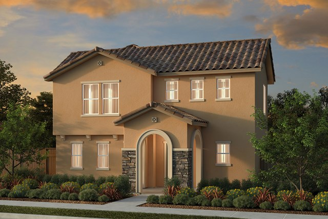 New Homes in Manteca, CA - Plan 2001 Tuscan