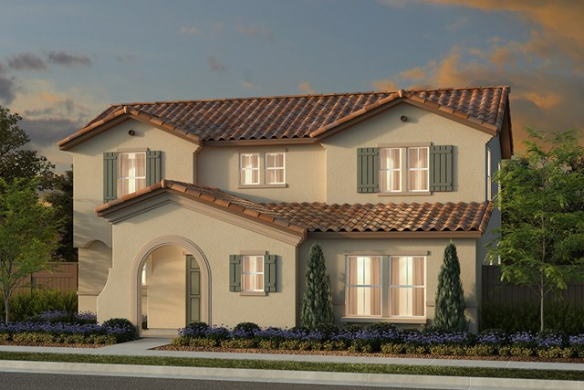 New Homes in Manteca, CA - Plan 2161 Spanish