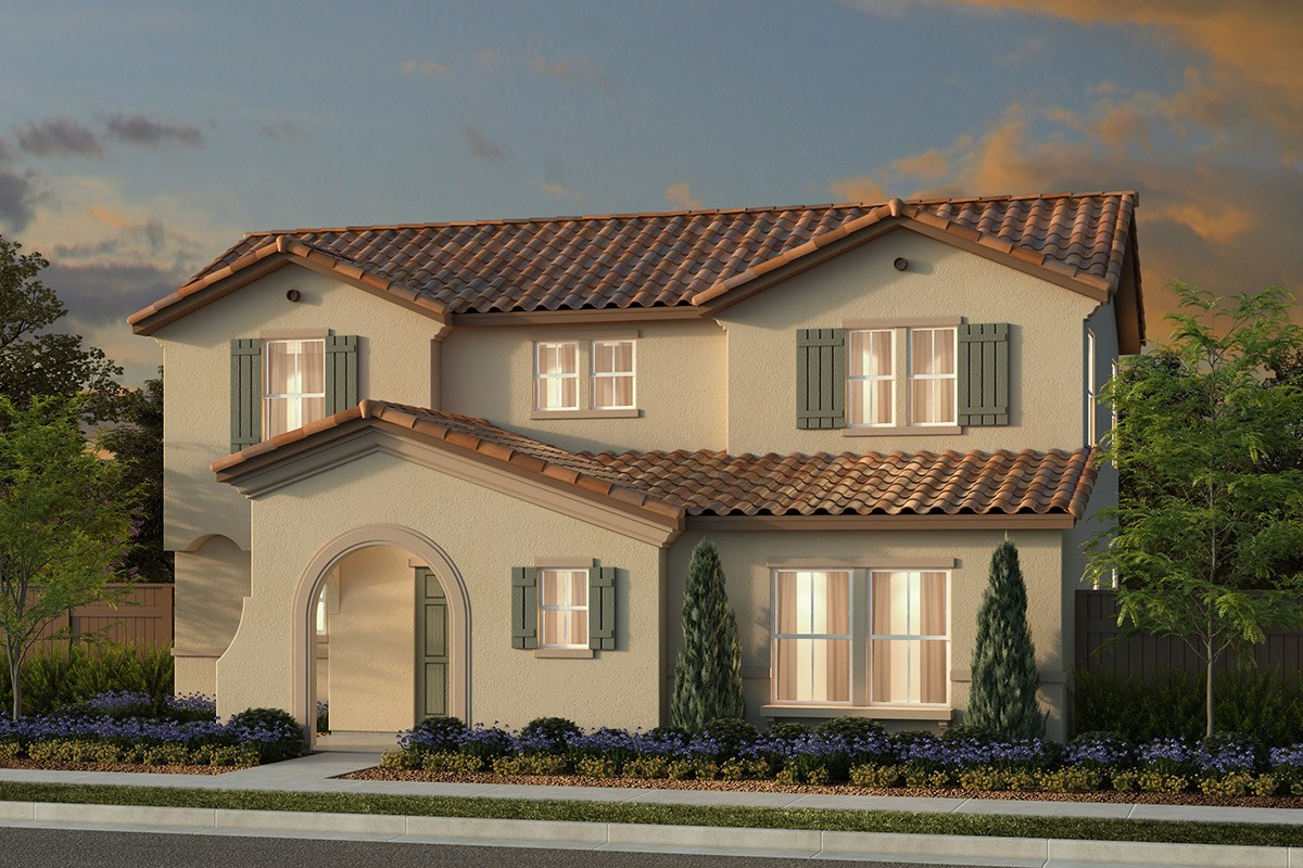 New Homes in Manteca, CA - Haven at Sundance Plan 2161 Spanish