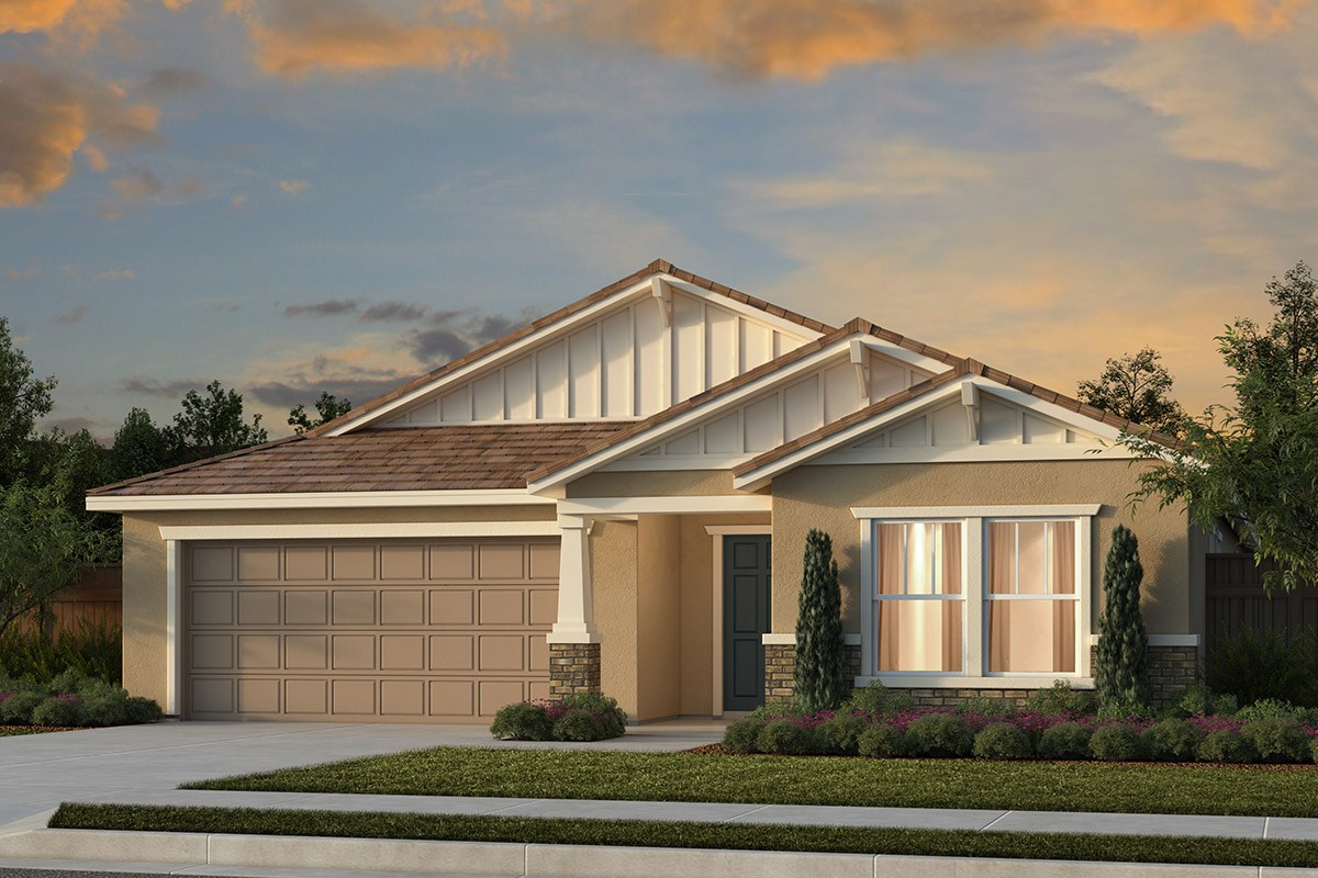 New Homes in Manteca, CA - Haven at Sundance Plan 2188 Craftsman