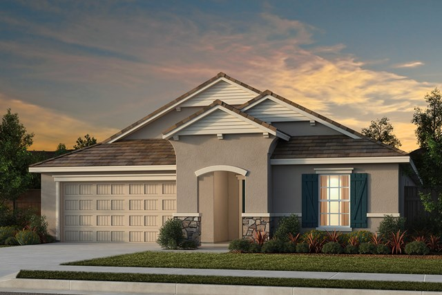 New Homes in Manteca, CA - Plan 2188 French Cottage