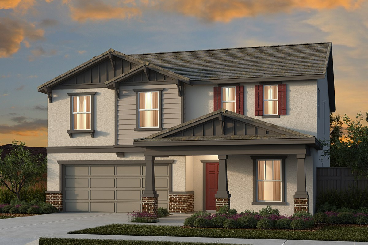 New Homes in Manteca, CA - Haven at Sundance Plan 2376 Craftsman