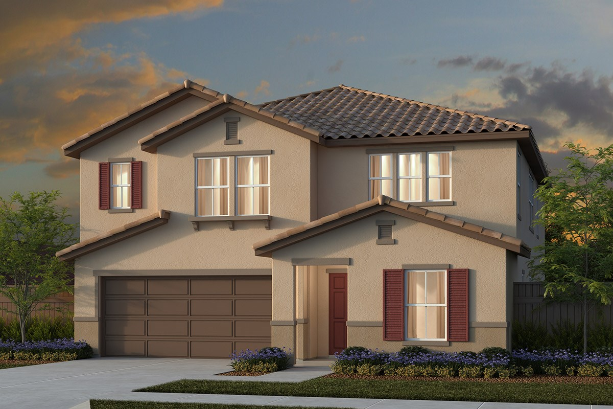 New Homes in Manteca, CA - Haven Villas at Sundance Traditional 3061 - Tuscan
