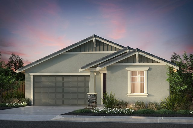 New Homes in Hollister, CA - Plan 1 Craftsman