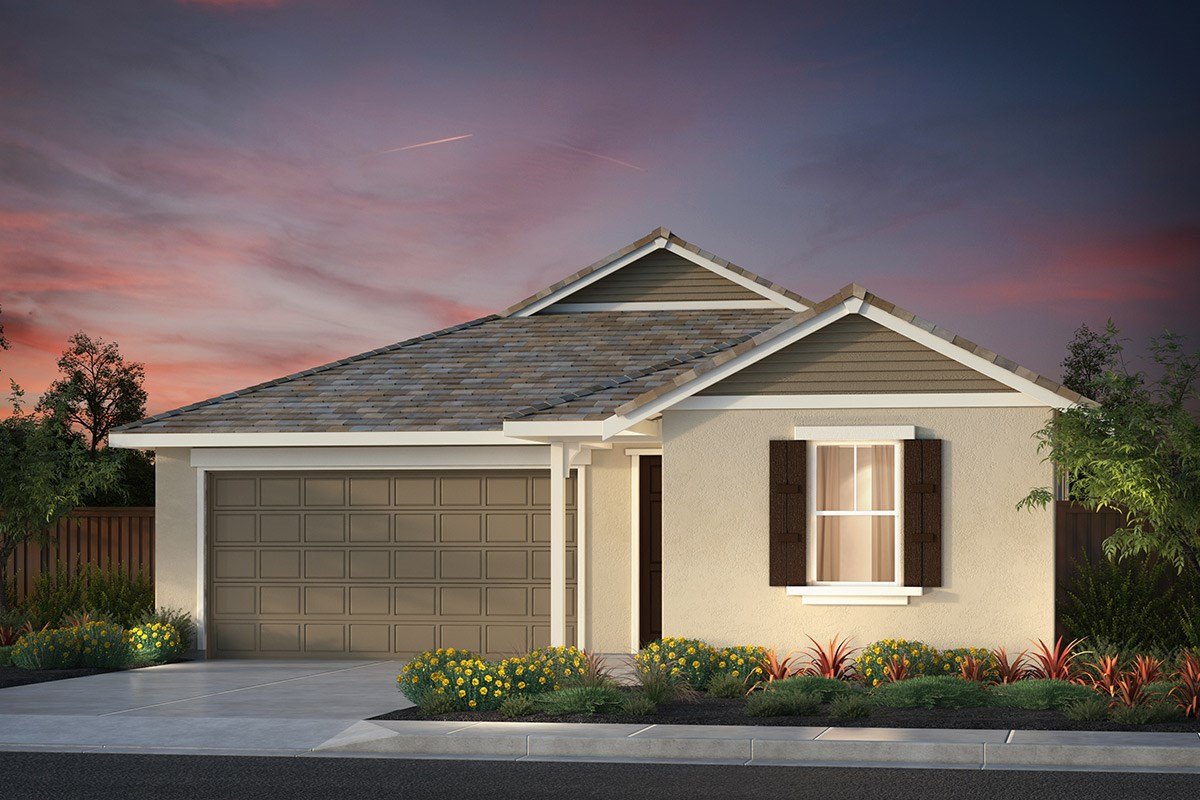 New Homes in Hollister, CA - Sunnyside Estates Plan 1 French