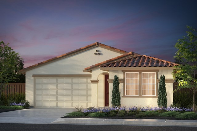 New Homes in Hollister, CA - Plan 1 Early California
