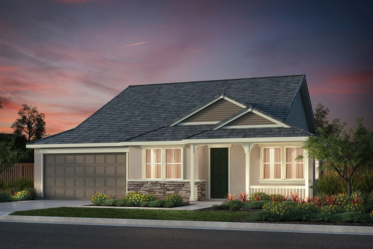 New Homes in Hollister, CA - Sunnyside Estates Plan 4 French