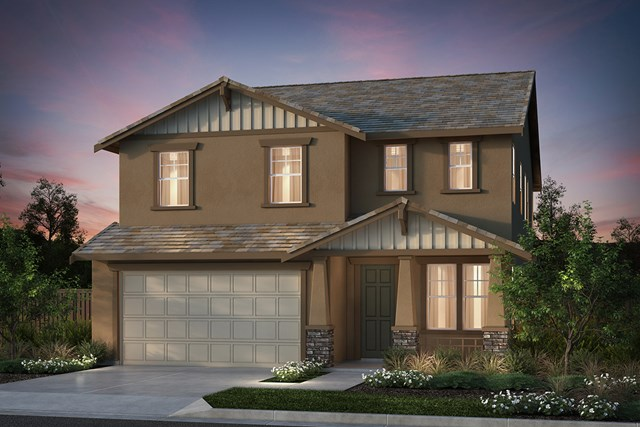 New Homes in Hollister, CA - Plan 6 Craftsman