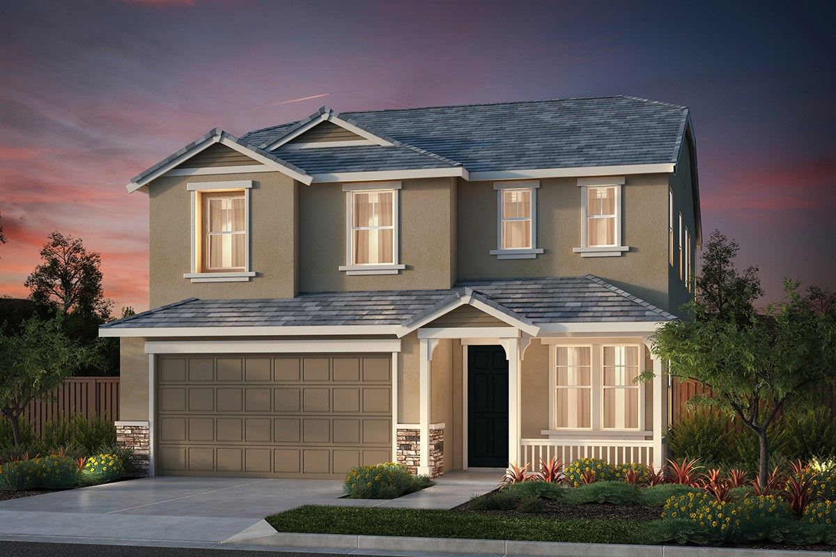 New Homes in Hollister, CA - Sunnyside Estates Plan 6 French