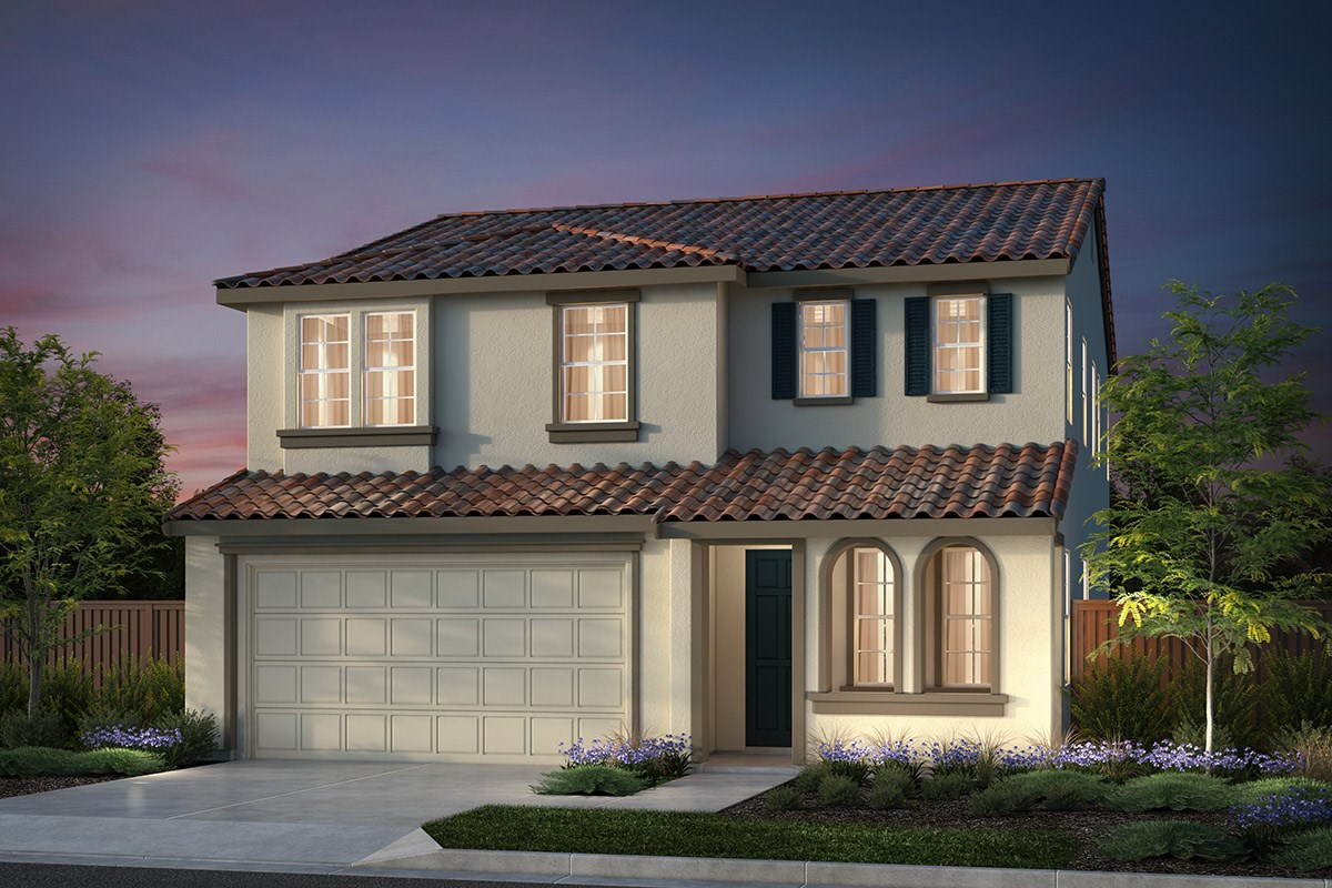 New Homes in Hollister, CA - Sunnyside Estates Plan 6 Early California