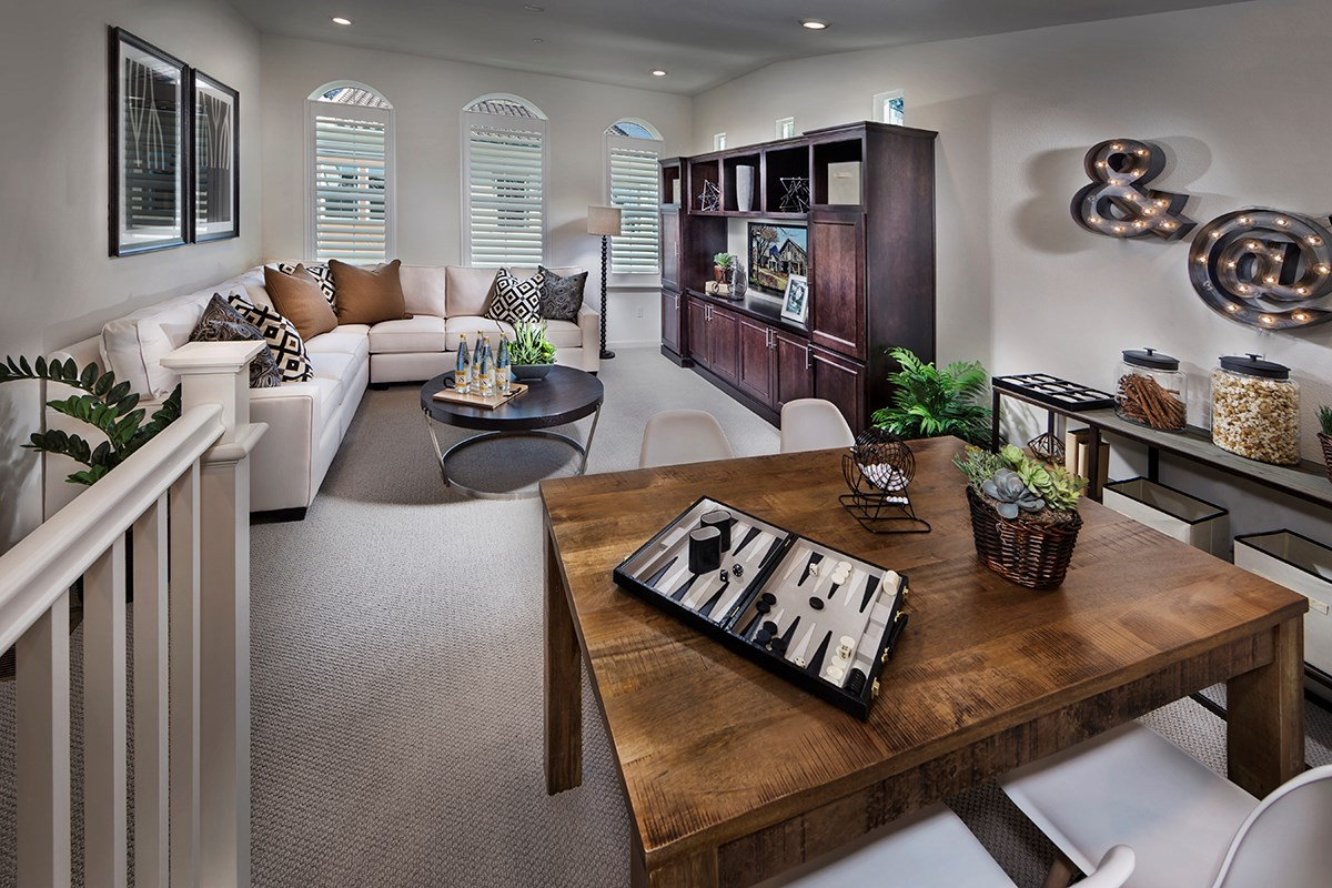 New Homes in Daly City, CA - The Row at Wellington Heights Plan 4 Bonus Room