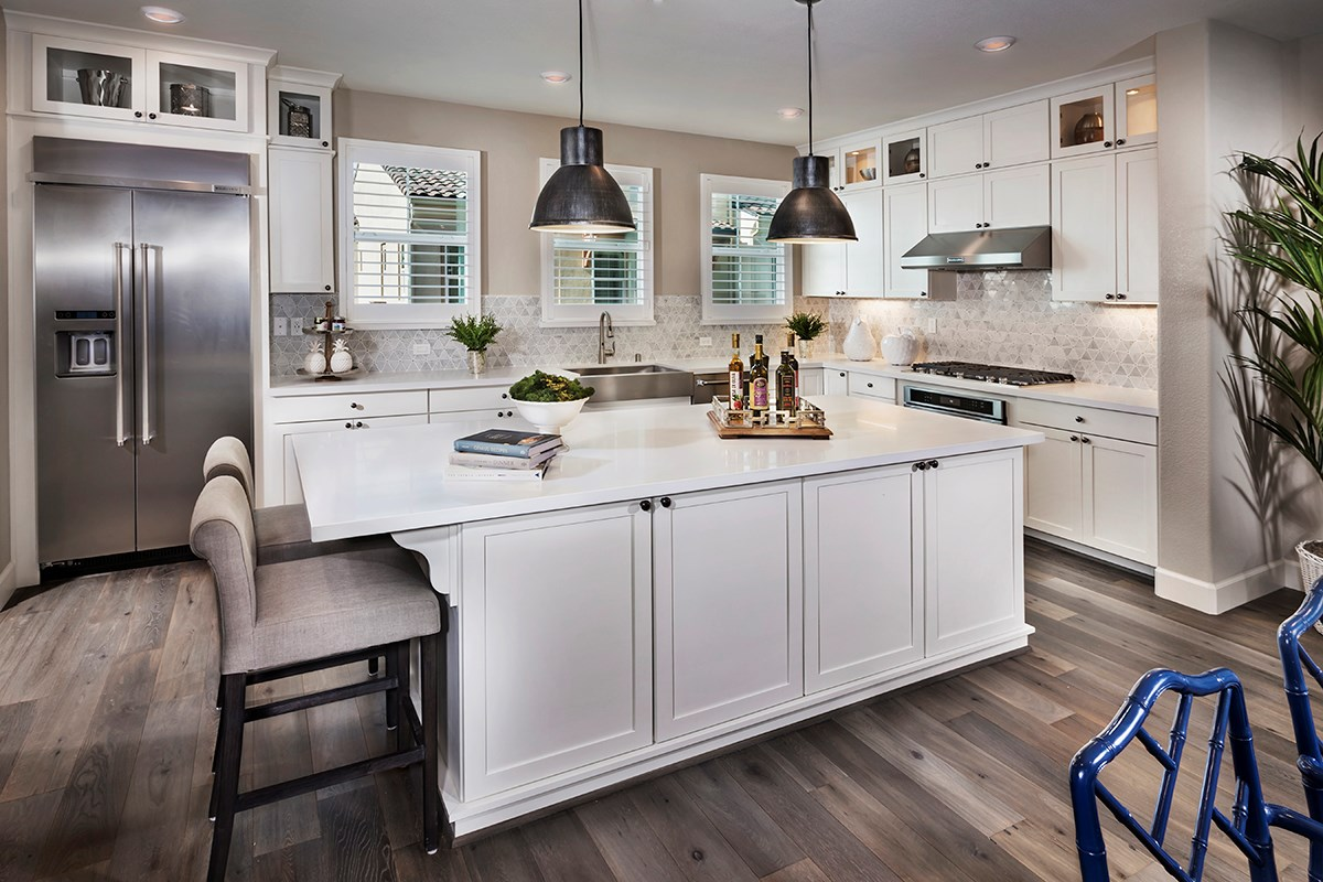 New Homes in Daly City, CA - The Row at Wellington Heights Plan 5 Kitchen