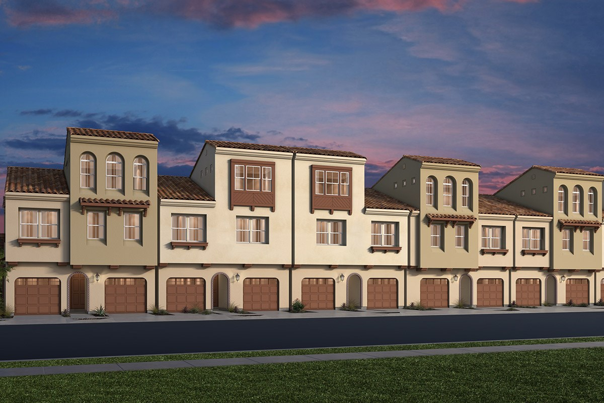 New Homes in Daly City, CA - The Row at Wellington Heights Elevation A