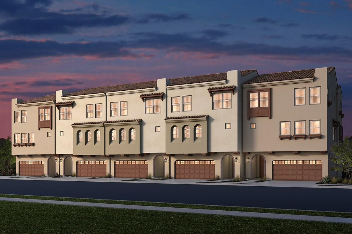 New Homes in Daly City, CA - The Row at Wellington Heights Elevation B