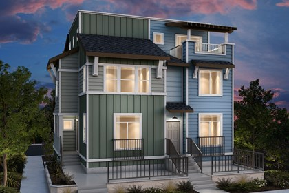 New Homes in Daly City, CA - Duplex: Type A ALT