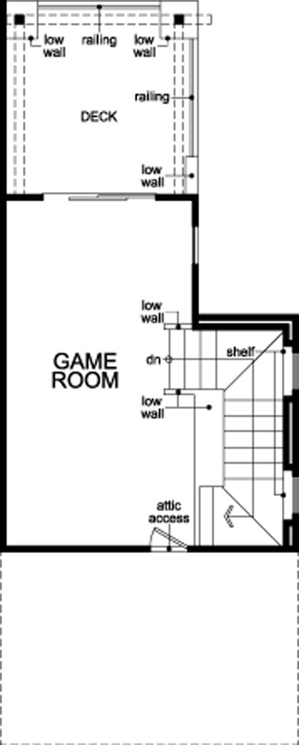floor plan of fourth floor