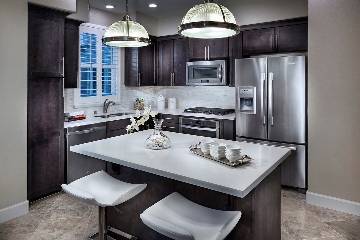 New Homes in Daly City, CA - The Village at Garden Valley Plan 3 Kitchen