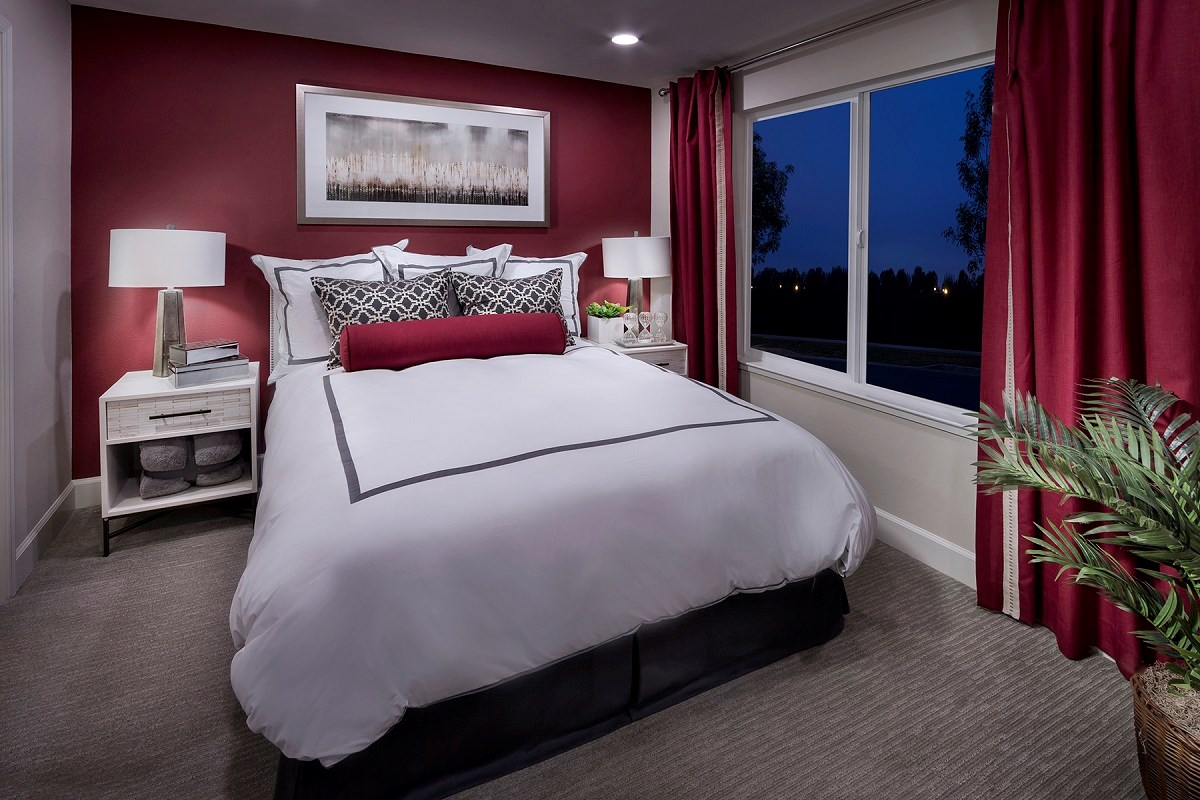 New Homes in Daly City, CA - The Village at Garden Valley Plan 3 Master Bedroom