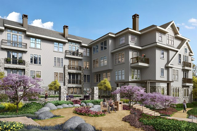 New Homes in Lafayette, CA - Building Exterior Rendering